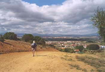 Downhill toward San Justo and Astorga