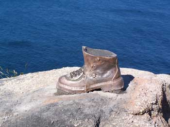 Bronze Pilgrims Boot
