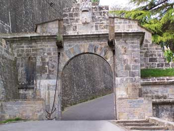 Gate into Pamplona